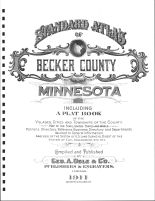 Title Page, Becker County 1911