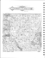 Township 141 N., Range 38 W., Round Lake, Big Rush Lake, Becker County 1911