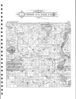 Township 142 N., Range 39 W., Big Rat Lake, Becker County 1911
