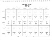 Becker County Code Map, Becker County 1992