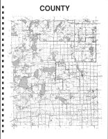 Becker County Map - East, Becker County 1992