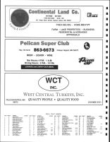 Lake Eunice Township, Ad - Continental Land Co., Pelican Super Club, West Central urkeys, Inc., Becker County 1992