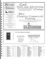 Richwood Township Owners Directory, Ad - DL Printing, Modern Heating and Plumbing, Becker County 1992