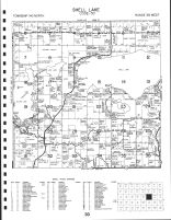 Shell Lake Township, Island Lake, Becker County 1992
