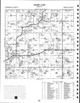 Silver Lake Township, Becker County 1992