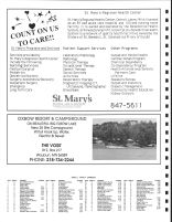 Sugar Bush Township Owners Directory, Ad - St Mary's Regional Health Center, The Voss', Becker County 1992