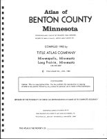 Title Page, Benton County 1983