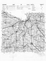 Blue Earth County Map, Blue Earth County 1962
