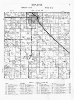 Code MP - Mapleton Townshp, Lura Lake, Blue Earth County 1962