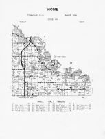 Code HN - Home Township 2, Minnesota River, Brown County 1961
