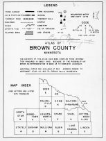 Index Map, Legend, Brown County 1961