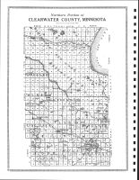 Clearwater County Map - North, Clearwater County 1912