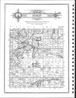 Dudley Township, Leonard, Four Legged Lake, Clearwater County 1912