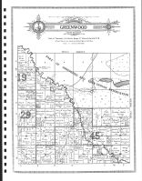 Greenwood Township, Churnes P.O., Clearwater County 1912