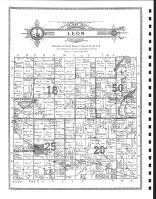 Leon Township, Clearbrook, Olberg, Beard, Clearwater County 1912