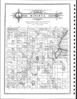 Minerva Township, Zerkel P.O., Clearwater County 1912