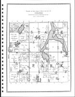 Township 143 North, Range 36 West, Lake Itasca, Elk Lake, Clearwater County 1912