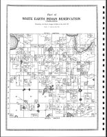 Township 144 North, Range 38 West, White Earth Indian Reservation, Clearwater County 1912