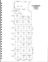 Clearwater County - Code Map, Clearwater County 1982