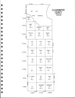 Clearwater County Code Map, Clearwater County 1992