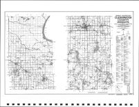 Clearwater County Highway Map, Clearwater County 1992