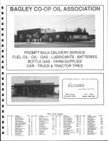 Popple Township Owners Directory, Ad - Bagley Co-op Oil Asso., Westwood Building Center, Clearwater County 1992