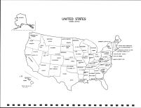 United States Map, Clearwater County 1992