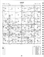 Winsor Township, Clearwater County 1992