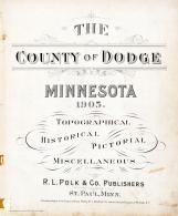 Title Page, Dodge County 1905