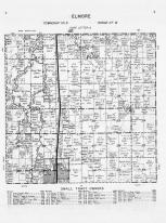 Code Q - Elmore Township, Blue Earth River, Faribault County 1955