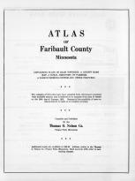 Title Page, Faribault County 1955