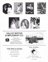 Huneke, Luhman, Mickelson, Peper, Benrud, Meyer, Strauss, Valley Motor & Implement Co., The Apple House, Goodhue County 1984