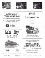 Mathees, Mathews, Rosener, Greenline Equipment, Paul Lawrence Construction, Lake City State Bank, Goodhue County 1984