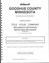 Title Page, Goodhue County 1984