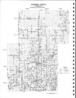 Kanabec County - Building Location Map, Kanabec County 1971