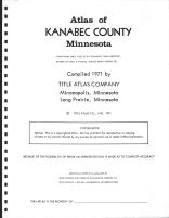 Title Page, Kanabec County 1971