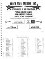 Brunswick Township Owners Directory, Ad - North Star Drillling, Inc., Kanabec County 1982