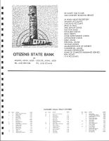 Kanaabec Township Owners Directory, Ad - Citizens State Bank, Kanabec County 1982