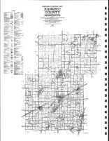 Kanabec County Highway Map, Kanabec County 1982