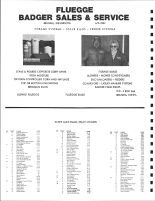 Knife Lake Township Owners Directory, Ad - Fluegge Badger Sales and Service, Kanabec County 1982