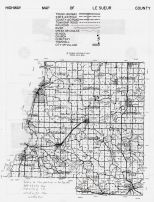 Le Sueur County Highway Map