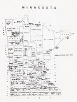 Wisconsin State Map, Le Sueur County 1963