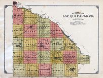 Lac Qui Parle County Topographical Map, Lac Qui Parle County 1913