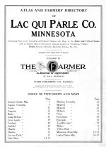 Title Page, Lac Qui Parle County 1913