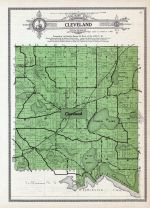 Cleveland Township, Scotch Lake, Salvidge, Henry, Decker, Silver, Le Sueur County 1912