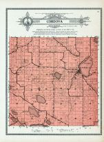 Cordova Township, Lake Gorman, Bossuot, Goose, Sleepy Eye, Le Sueur County 1912