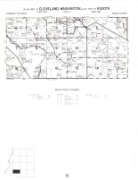 Cleveland Township - South, Washington Township, Kasota Township - East, Le Sueur County 1973