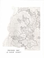 Le Sueur County Drainage Map 1, Le Sueur County 1973