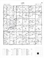 Lyons Township, Russell, Lyon County 2000