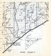 Cook County, Schroeder, Tofte, Lutson, , Minnesota State Atlas 1954